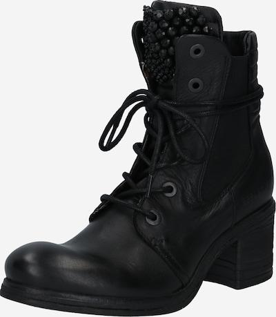 REPLAY Schnürstiefelette in schwarz, Produktansicht