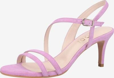 Lodi Sandalen in lila, Produktansicht