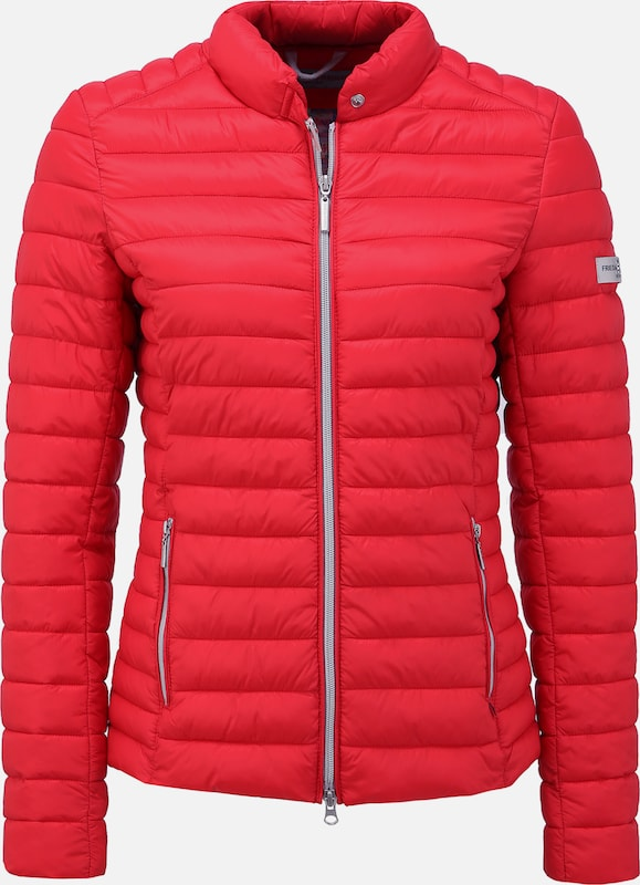 Frieda & Freddies Steppjacke 'JUDY 9722' in rot, Produktansicht