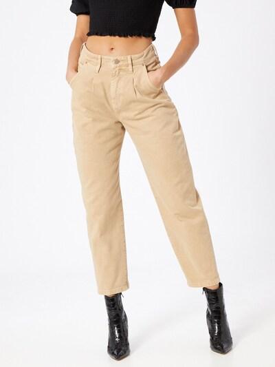 Mavi Jeansy 'Laura' w kolorze beżowym, Podgląd na modelu(-ce)