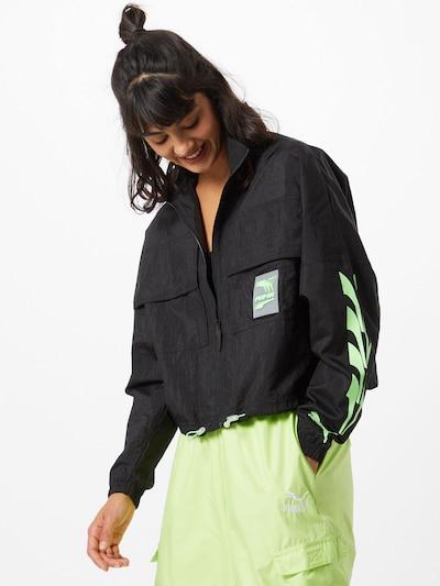 PUMA Trainingsjacke 'Evide' in schwarz, Modelansicht