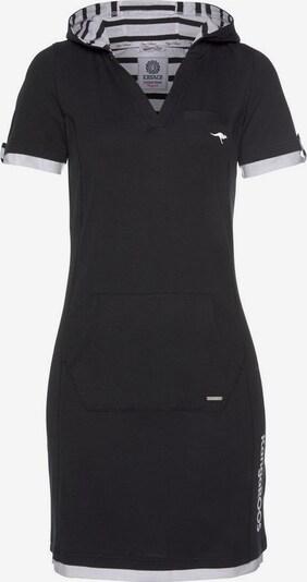 KangaROOS Kleid in schwarz / weiß, Produktansicht