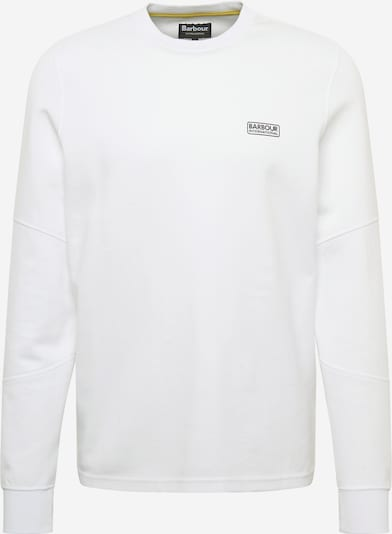 Barbour International T-Shirt 'B.Intl Decal' en blanc, Vue avec produit