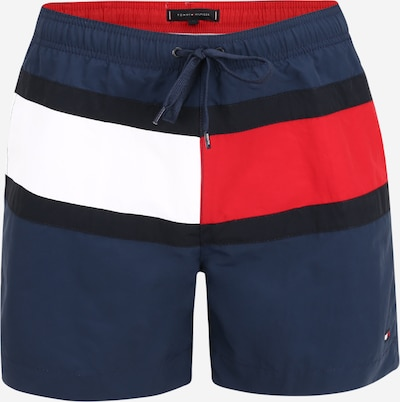 Tommy Hilfiger Underwear Zwemshorts in de kleur Marine / Rood / Zwart / Wit, Productweergave