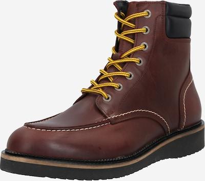 SELECTED HOMME Šněrovací boty 'Teo' - hnědý melír / černá, Produkt