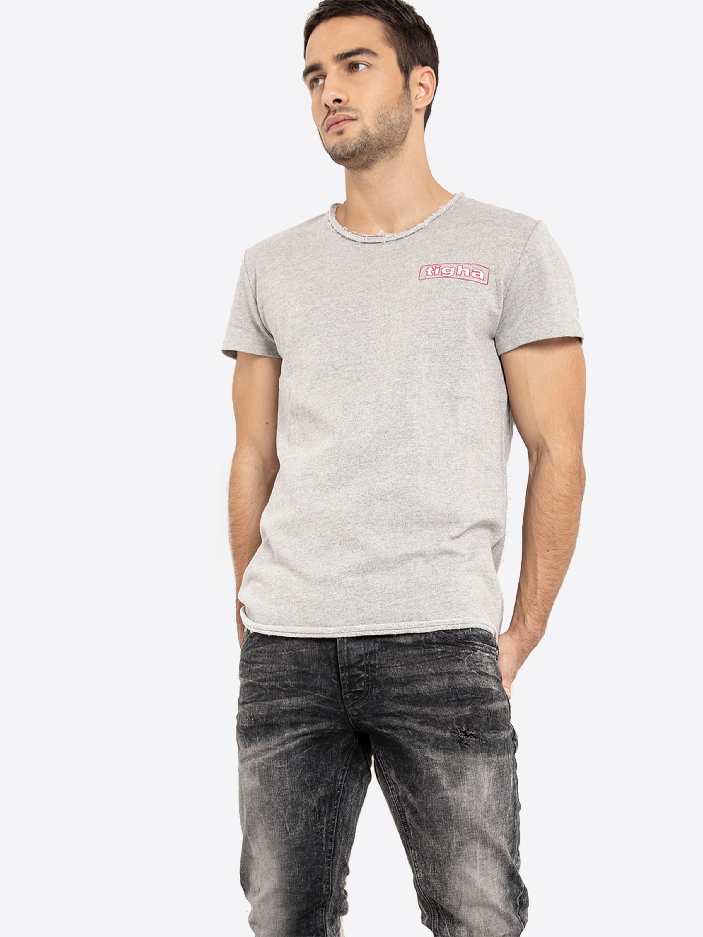 GraumeliertDunkelrot Shirt Tigha Shirt 'meo' GraumeliertDunkelrot Shirt 'meo' Tigha Tigha In 'meo' In 35LSAR4qcj