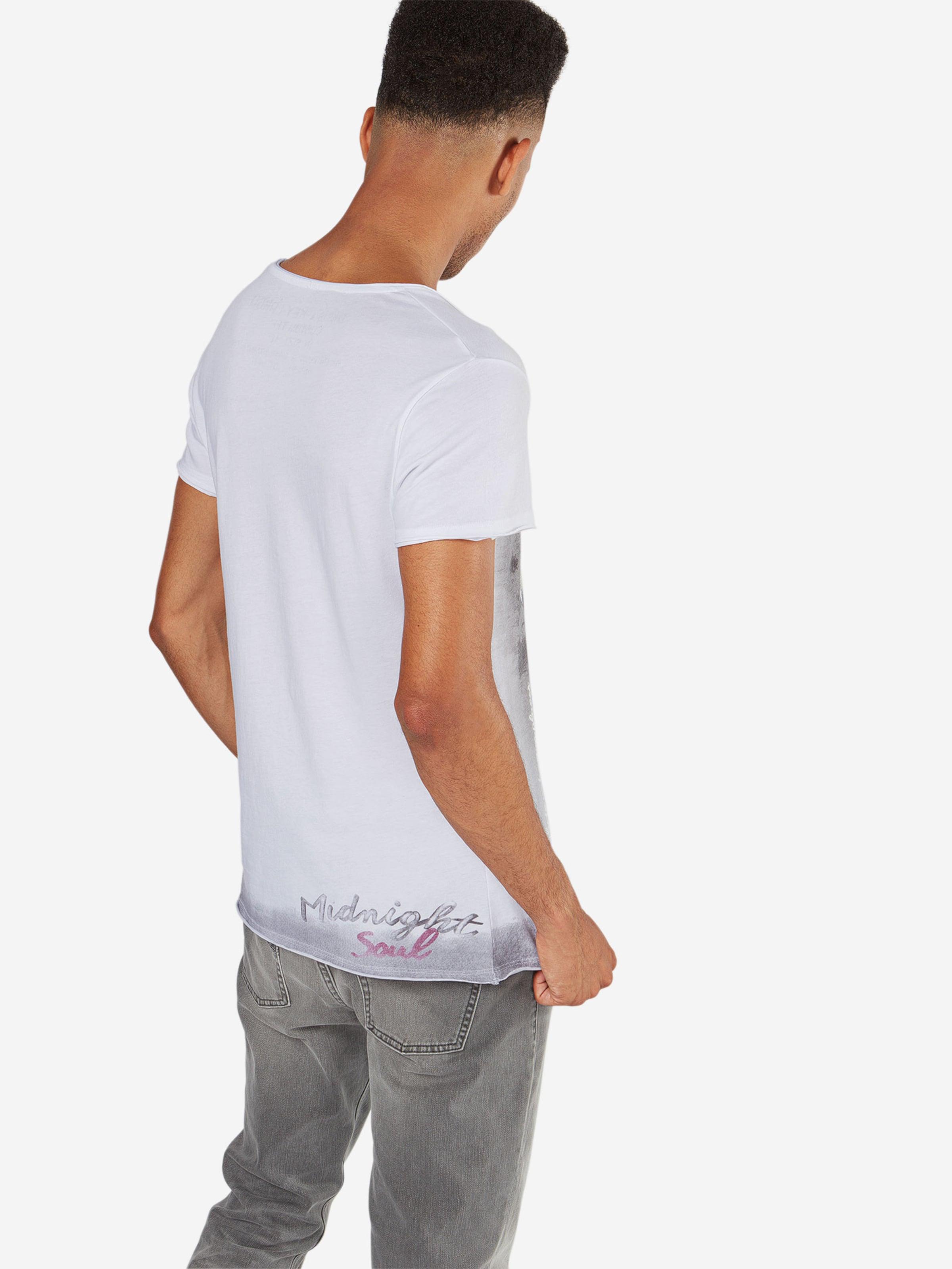 Largo In Key Alive Shirt Round' GrauWeiß 'mt BdCoex