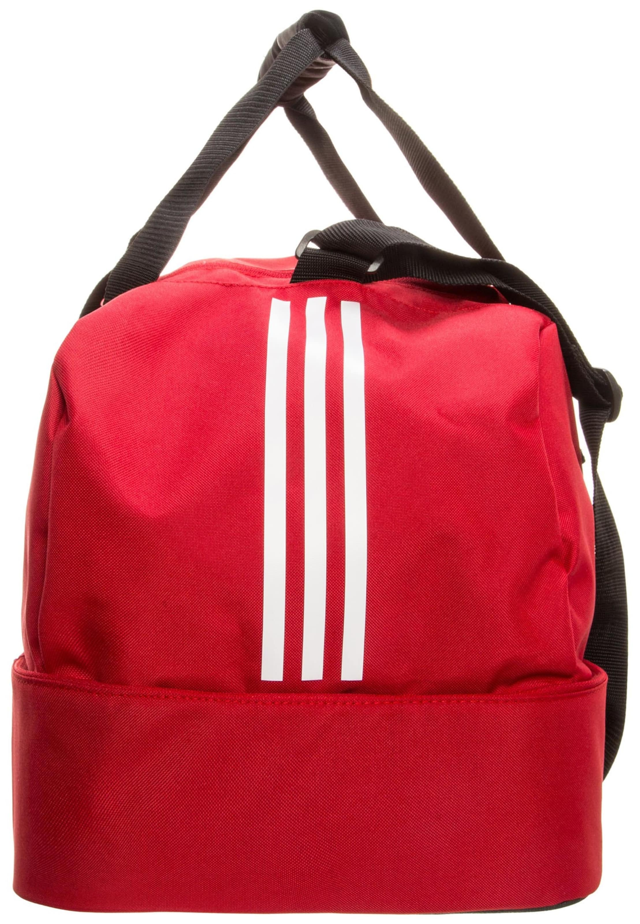 En Adidas 'tiro De Bottom Sport Performance Compartment' Sac RougeNoir Blanc vmn80Nw