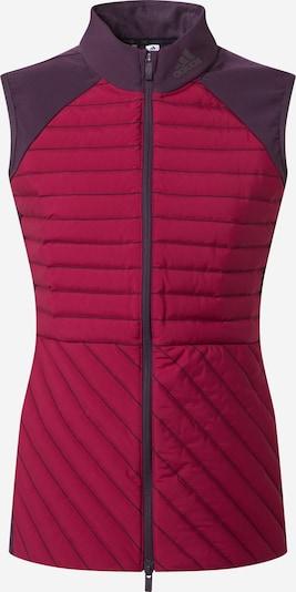 adidas Golf Sportski prsluk u ljubičasto crvena / tamno ljubičasta, Pregled proizvoda