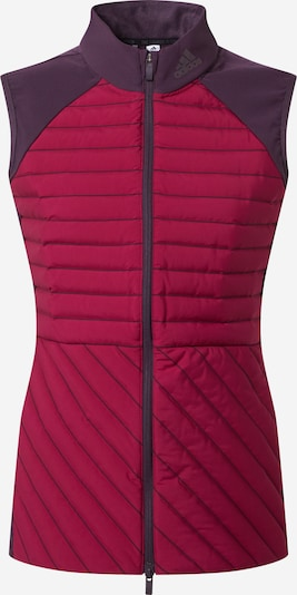 adidas Golf Sportbodywarmer in de kleur Bessen / Donkerlila, Productweergave
