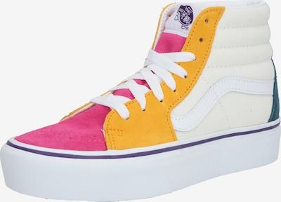 VANS Kotníkové tenisky 'UA SK8-Hi Platform 2.0' - mix barev / pink / bílá: Pohled zepředu
