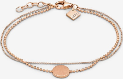 QOOQI Armband in rosegold, Produktansicht