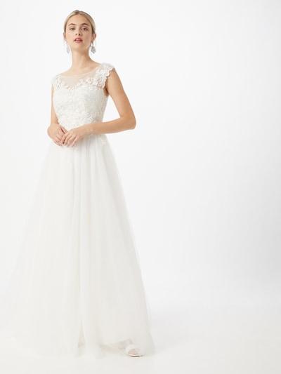 MAGIC BRIDE Robe de soirée en blanc, Vue avec modèle