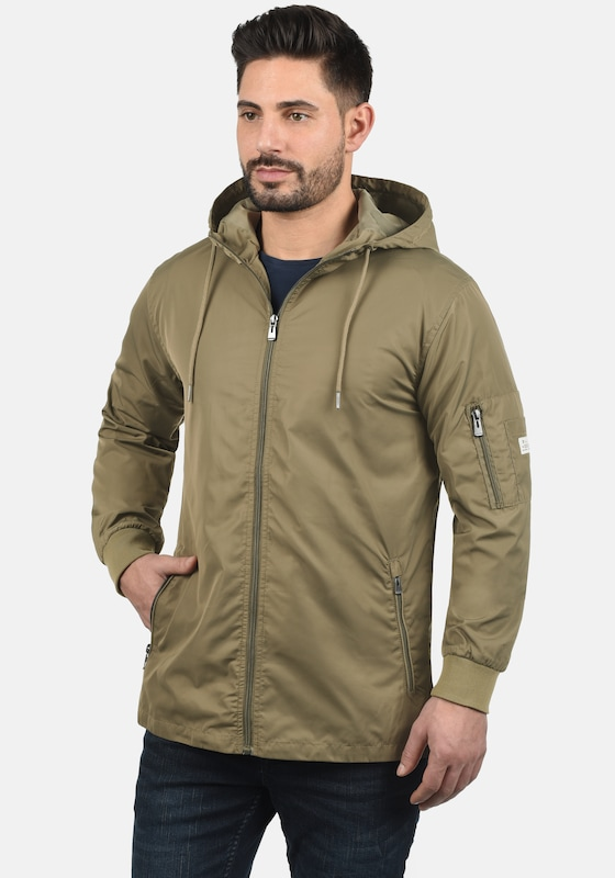 BLEND Windbreaker 'Cray' in beige: Frontalansicht
