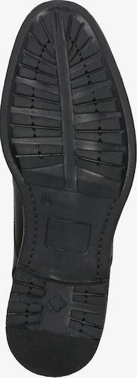 BULLBOXER Schnürstiefel in dunkelbraun: Ansicht von unten