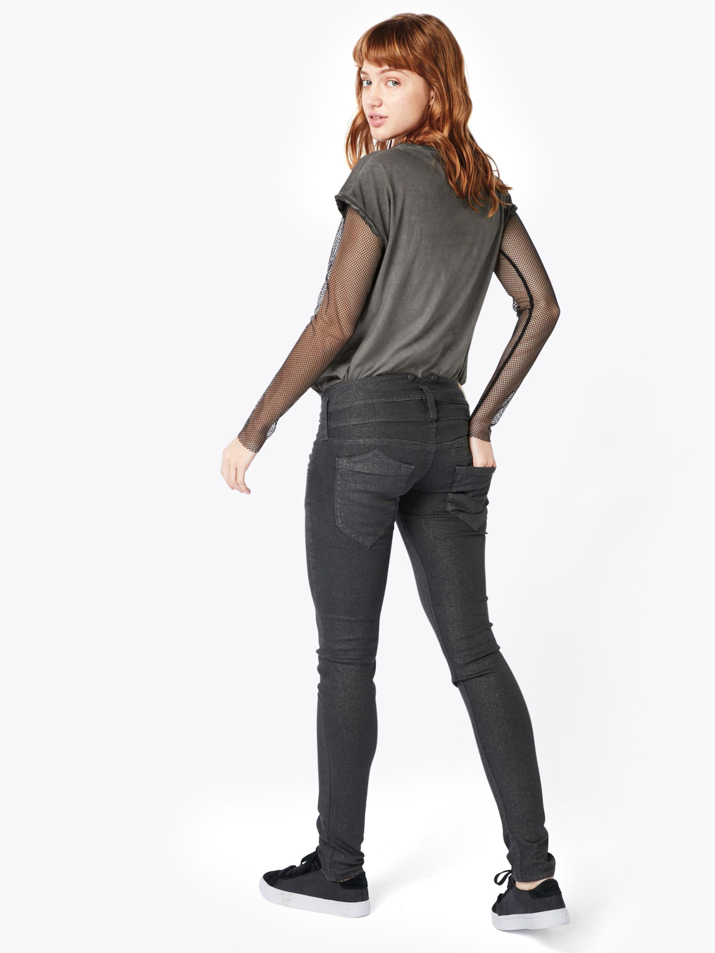 Herrlicher Skinny-Jeans 'Pitch Slim Glitter Stretch' Auslass Visa Zahlung Verkauf Wahl Online-Shop Aus Deutschland Online Zum Verkauf e2hZmErs4