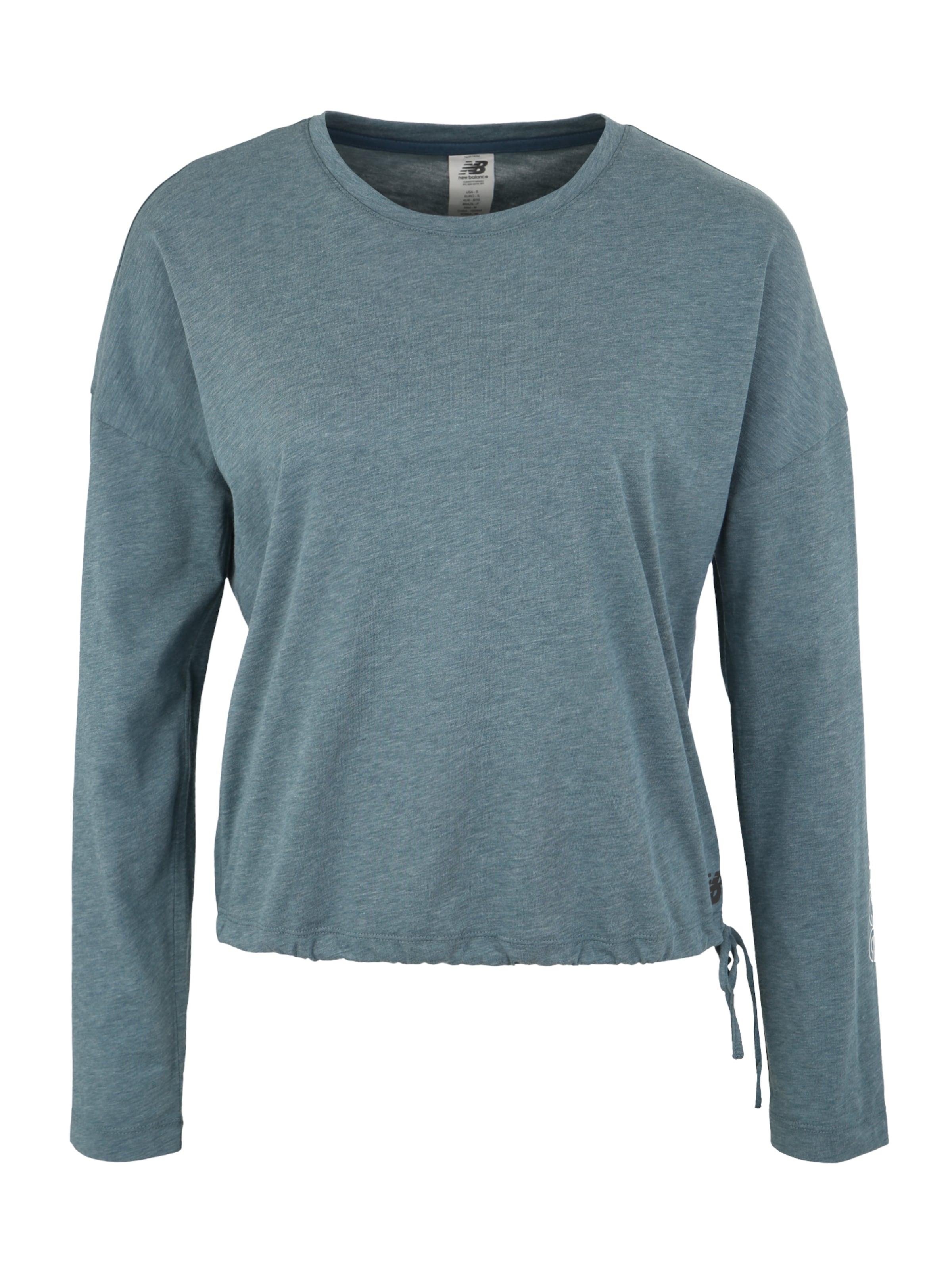 info pour 7839f 0d1a9 new balance T-shirt fonctionnel 'WT83101' en pétrole Prix ...