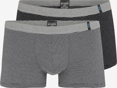 SCHIESSER Boksarice 'Hip-Shorts (2er-Pack)' | siva / črna barva, Prikaz izdelka