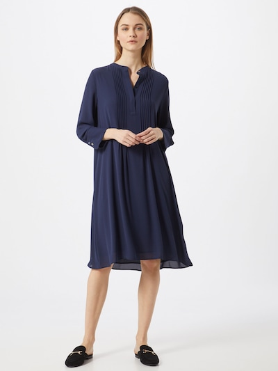 Rich & Royal Kleid in blau, Modelansicht