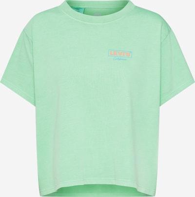 LEVI'S T-shirt 'GRAPHIC VARSITY TEE' en vert, Vue avec produit