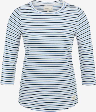 Desires 3/4-Arm-Shirt 'Helene' in blau / weiß, Produktansicht