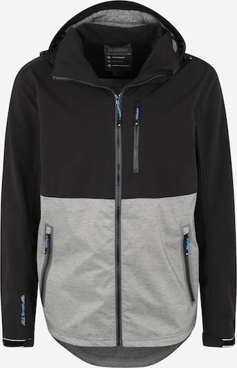 KILLTEC Sport-Jacke 'Nilon' in grau / schwarz, Produktansicht