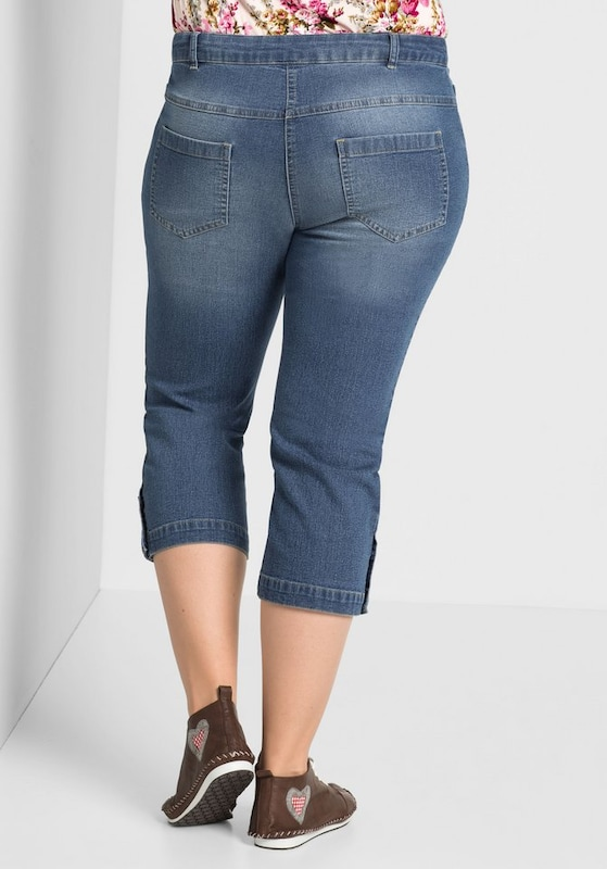 sheego style 3/4-Jeans