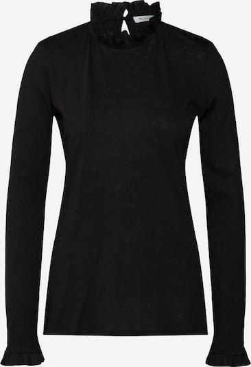 Rich & Royal Langarmshirt in schwarz, Produktansicht