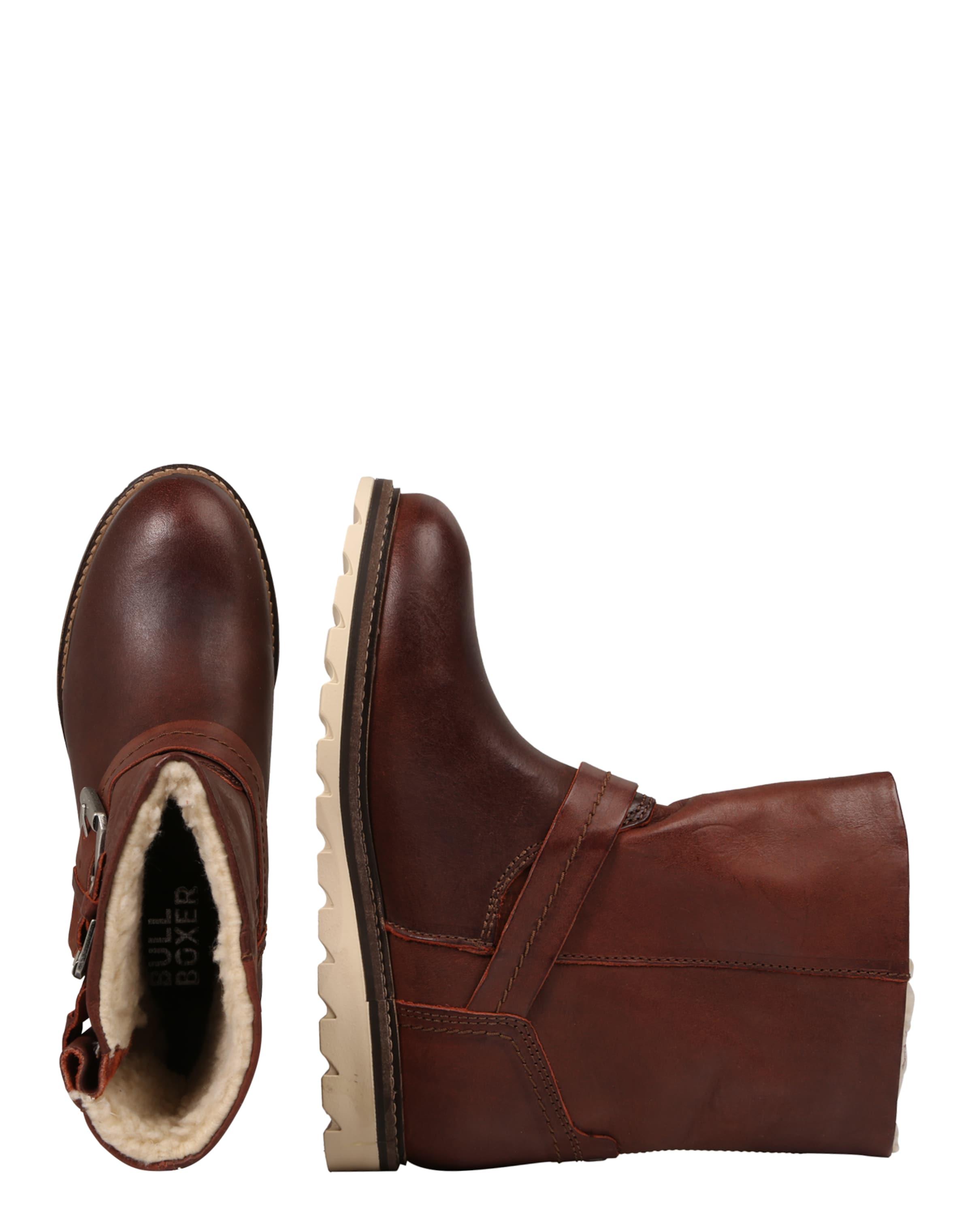 BULLBOXER Leder-Stiefel mit Schnallen Billig Mit Master Billige Versorgung yC6im6YzxO