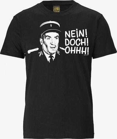 LOGOSHIRT T-Shirt in schwarz / weiß, Produktansicht