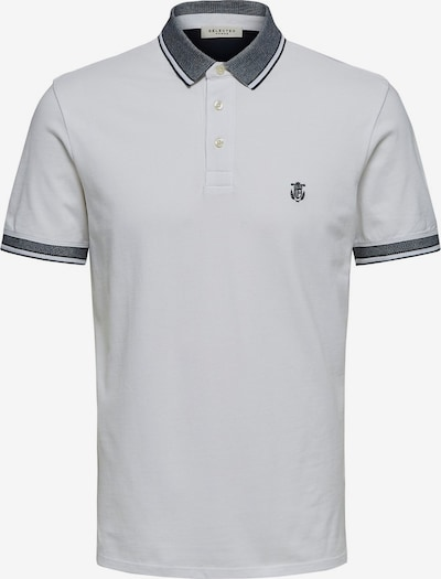 SELECTED HOMME Poloshirt in weiß, Produktansicht