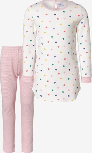 PETIT BATEAU Nachthemd + Schlafhose in rosa, Produktansicht