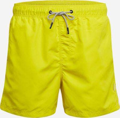 JACK & JONES Badeshorts 'JJIARUBA' in gelb, Produktansicht