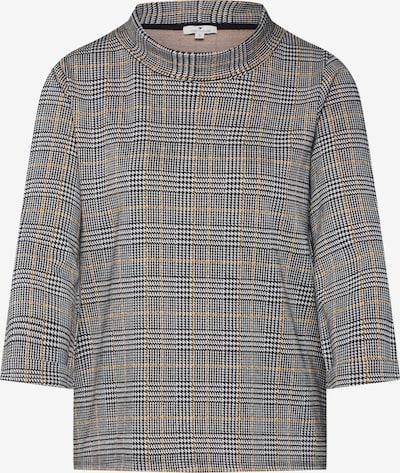 TOM TAILOR Sweatshirt in schwarz / weiß, Produktansicht