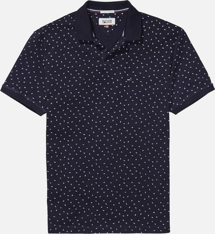 Tommy Jeans Poloshirt 'THDM PRINT POLO S/S 21'