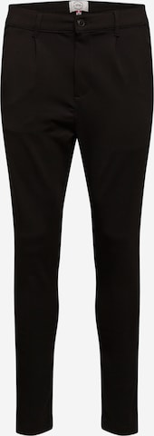 Kronstadt Trousers with creases in Black