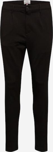 Pantaloni con piega frontale Kronstadt di colore nero, Visualizzazione prodotti