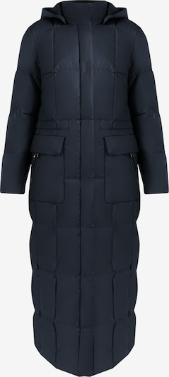 Finn Flare Mantel in blau, Produktansicht
