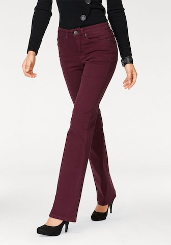 ARIZONA Jeans 'Comfort-Fit' in Red