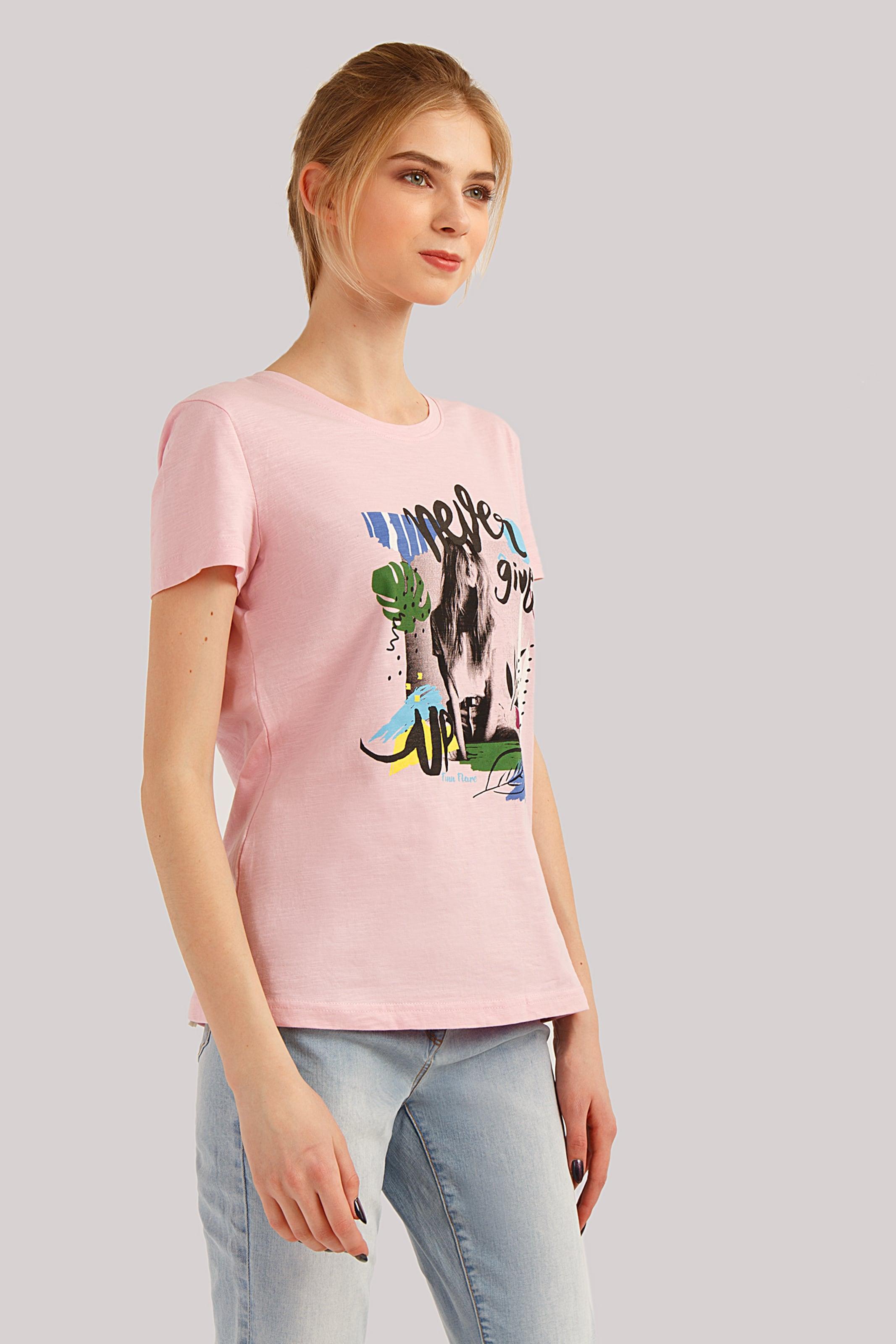 Finn MischfarbenRosa Flare T shirt In IYeHE2WD9