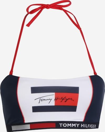 Tommy Hilfiger Underwear Bikini zgornji del | modra / rdeča / bela barva, Prikaz izdelka