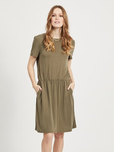 OBJECT Kleid in oliv, Modelansicht