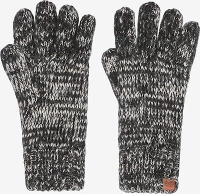 Bickley + Mitchell Vingerhandschoenen in de kleur Basaltgrijs / Zwart, Productweergave