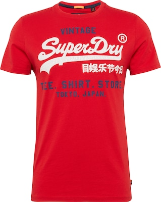 Superdry Shirt mit Logoprint