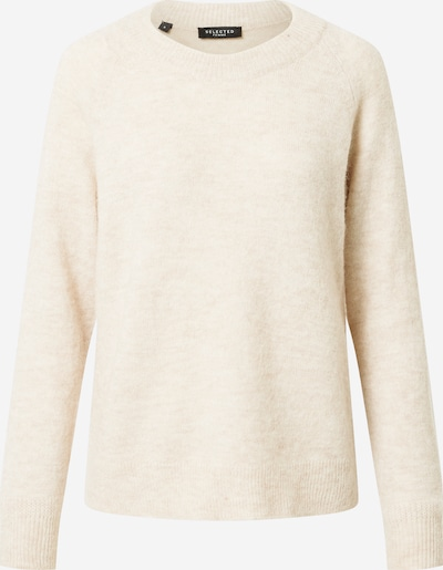 SELECTED FEMME Pullover in beige, Produktansicht