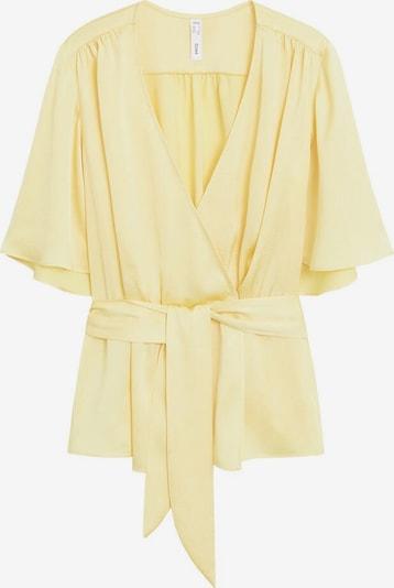 MANGO Bluse 'Gus' in gelb, Produktansicht