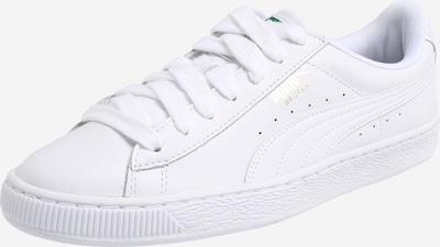PUMA Baskets basses 'Basket Classic' en blanc, Vue avec produit