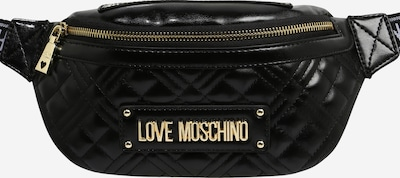 Love Moschino Gürteltasche 'BORSA QUILTED NAPPA PU NERO' in schwarz, Produktansicht