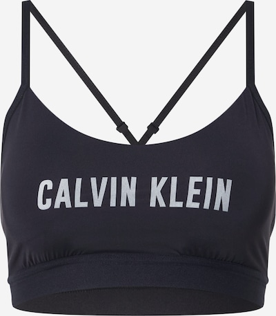 Calvin Klein Performance Sport-BH in hellgrau / schwarz, Produktansicht