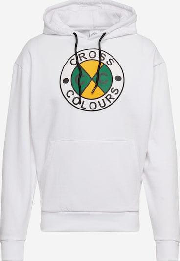 CROSS COLOURS Sweatshirt in weiß, Produktansicht